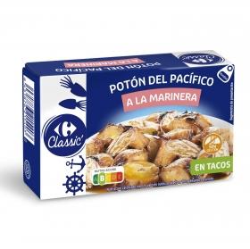 Tacos de potón a la marinera Carrefour sin gluten 65 g.