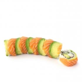 Dragon roll de salmón Sushi Daily 8 ud