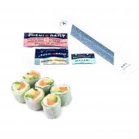 Cristal maki salmón Sushi Daily