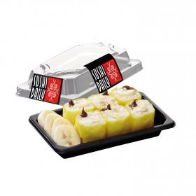 Maki de chocolate y plátano Sushi Daily 6 ud