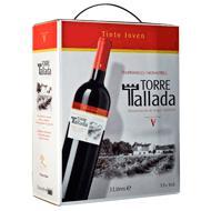 Vino D.O. Valencia tinto Torre Tallada 3 l.
