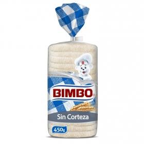 Pan de molde sin corteza buenisimo Bimbo 450 g.