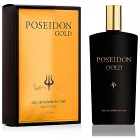 Agua de colonia gold edt Poseidon 150 ml.