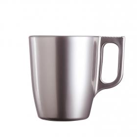 Mug Vidrio LUMINARC Flashy  25 cl - Plata