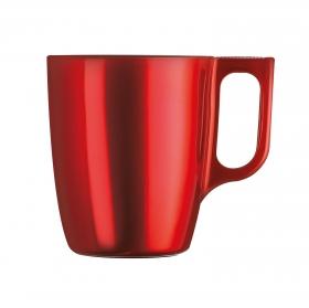 Mug Vidrio LUMINARC Flashy 25 cl - Rojo