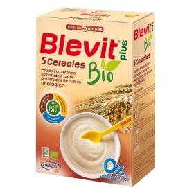 Papilla Infantil desde los 5 meses 5 cereales Blevit 250 g.
