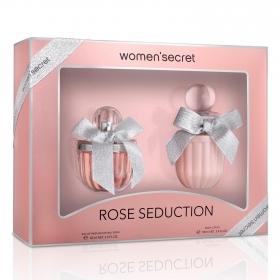 Set Rose seduction Women'secret (Eau de parfum 60 ml + Body lotion 100 ml) 1 ud.