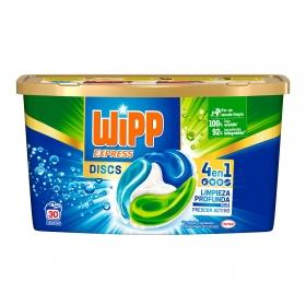 Detergente en cápsulas Wipp Express 30 ud.