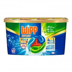 Detergente en cápsulas anti olores Wipp Express 30 ud.