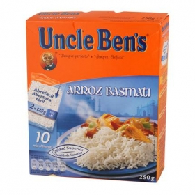 Arroz basmati Uncle Ben's 250 g.