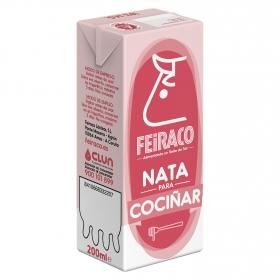 Nata para cocinar Feiraco sin gluten 200 ml.