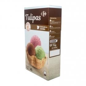 Tulipas Carrefour 75 g.