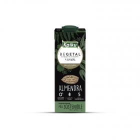 Bebida vegetal de almendra sin azúcares añadidos Kaiku 1 l.