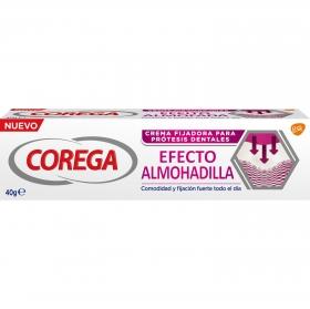 Crema fijadora para prótesis dentales efecto almohadilla Corega 40 g.