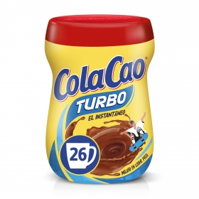Cacao soluble instantáneo Cola Cao Turbo 375 g.