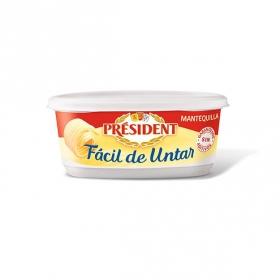 Mantequilla fácil de untar Président 250 g.