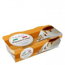 Panna Cotta Dolce Mamma pack de 2 unidades de 100 g.