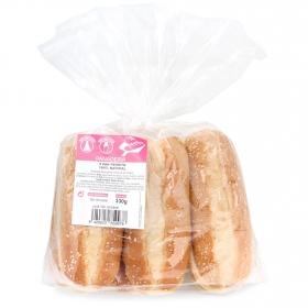 Pan de perrito 100% natural sin aditivos y sin lactosa 6 ud