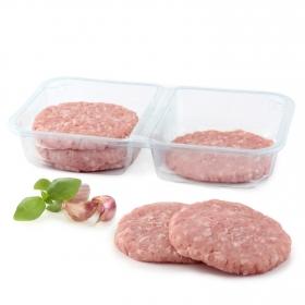Hamburguesa de pavo y pollo sin lactosa Carrefour 6x90 g