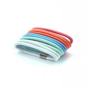 Goma de pelo multicolor Ponette 10 ud.