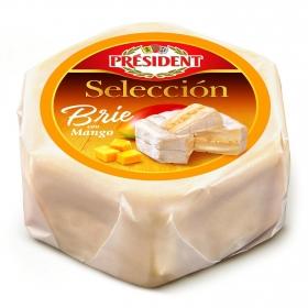 Queso Brie con mango y miel President Selección 195 g