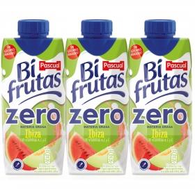 Zumo Bifrutas Ibiza zero pack de 3 briks de 33 cl.