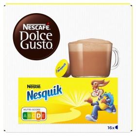 Cacao en cápsulas Nesquik Nescafe Dolce Gusto 16 unidades de 16,13 g.