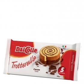 Trotarella relleno de cacao Dal Colle 160 g.