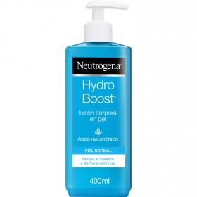 Loción corporal en gel para pieles normales Neutrogena 400 ml.