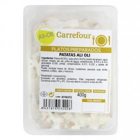 Patatas con ali oli Carrefour  400 g