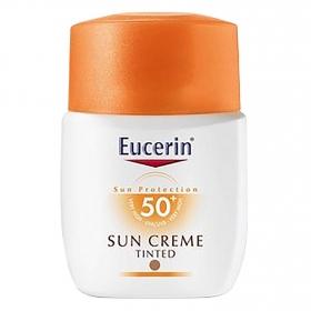 Crema solar facial FP 50+ Eucerin 50 ml.