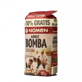 Arroz bomba para paella Nomen 1 kg.