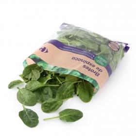 Ensalada de brotes de espinaca Carrefour bolsa 250 g