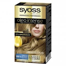 Tinte sin amoníaco oleo intense 7-10 rubio natural SYOSS 1 ud.