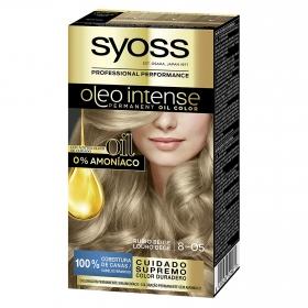 Tinte sin amoníaco oleo intense 8-05 rubio beige SYOSS 1 ud.