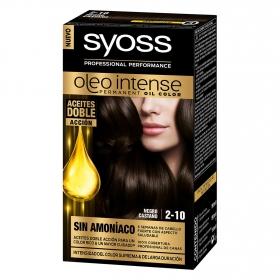 Tinte sin amoníaco oleo intense 2-10 negro castaño SYOSS 1 ud.