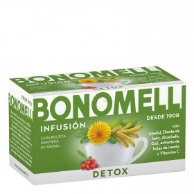 Infusión Detox en bolsitas Bonomelli 16 ud.