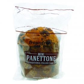 Panettone mini con chocolate 100 g