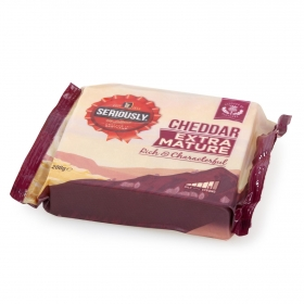Queso cheddar extra mature Seriously Strong 200 g