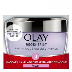 Mascarilla milagro reafirmante de noche Olay Regenerist 50 ml.