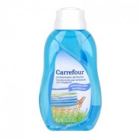 Ambientador de Mecha Aroma Ropa Limpia Carrefour 375 ml.