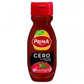 Ketchup cero Prima sin gluten envase 325 g.