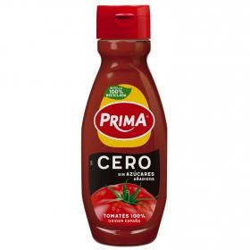 Ketchup cero Prima sin gluten envase 570 g.