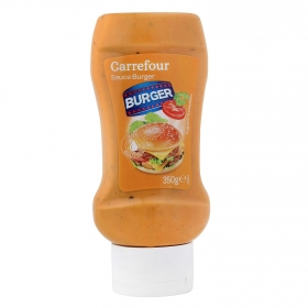 Salsa burguer Carrefour envase 350 g.