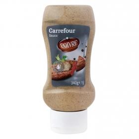 Salsa a la pimienta Carrefour envase 340 g.