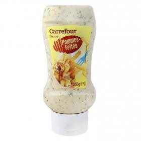 Salsa para patatas fritas Carrefour envase 355 g.