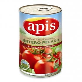 Tomate natural entero pelado Apis 390 g.