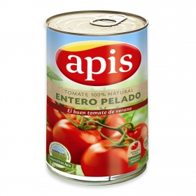 Tomate natural entero pelado Apis 780 g.