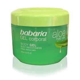 Gel de ducha Corporal de Aloe Vera Babaria 400 ml.