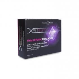 Ampollas de serum con ácido hialurónico ecológicas Shock Xensium 4 ud.